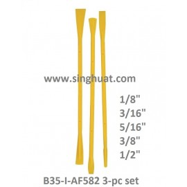 B35-I-AF582 3PC NYLON SPATULA SET * Images are for illustrative purposes only *