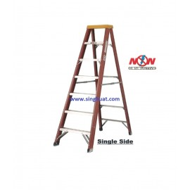 A FRAME FIBERGLASS LADDER - SINGLE SIDE * Images are for illustrative purposes only*