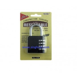 40mm - 4 DIGIT RESETABLE PADLOCK * Images are for illustrative purposes only*