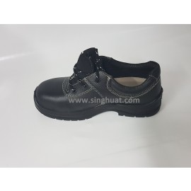 KR 7000 Black Colour Laced Safety Shoe ( PSB Approved ) * Images are for illustrative purposes only *