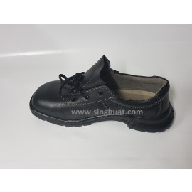 KWS 800 Black Colour Laced Safety Shoe ( PSB Approved ) * Images are for illustrative purposes only *