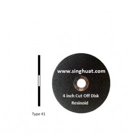 BONDED ABRASIVES CUT OFF DISK * Images are for illustrative purposes only*
