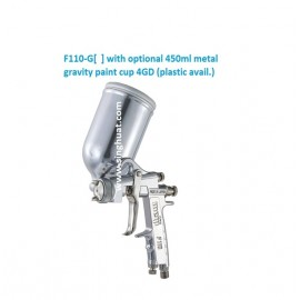 M01-I-30304-10XX SPRAY GUN F110-G * Images are for illustrative purposes only*