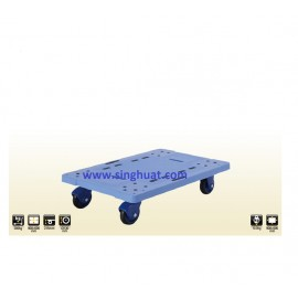 PF-300 PLASTIC TROLLEY WITHOUT HANDLE - 300KG * Images are for illustrative purposes only *