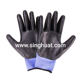 PYNT3121L Polyester With Nitrile Palm Coating * Images are for illustrative purposes only *