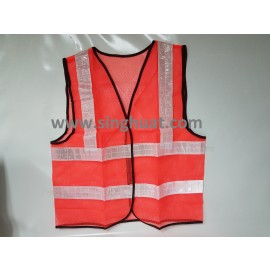 Red Colour Reflective Safety Vest