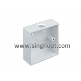 White Colour PVC Base Socket * Images are for illustrative purposes only *