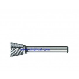 CARBIDE BURRS - SN INVERTED CONE TYPE * Images are for illustrative purposes only *