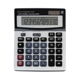 Solar 12 Digits Calculator * Images are for illustrative purposes only *