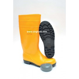 PVC WATER BOOT WITH STEEL TOE CAP * Images are for illustrative purposes only *